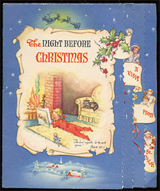 "1949 edition of ""The Night Before CHristmas."" Photo: . Photo: <a href=""http://www.flickr.com/photos/roadsidepictures/6567490483/"">Roadsidepictures</a>, Creative Commons, some rights reserved"