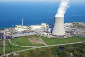The nearest nuclear plant is on the shores of Lake Ontario in Oswego