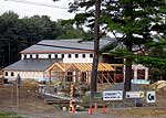 Closer to reality - the new arts/sciences center in Old Forge is expected to open early next year