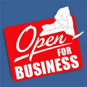 ...is the tag line for NY's Regional Economic Development Councils