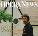 Tobias Picker featured in Opera News
