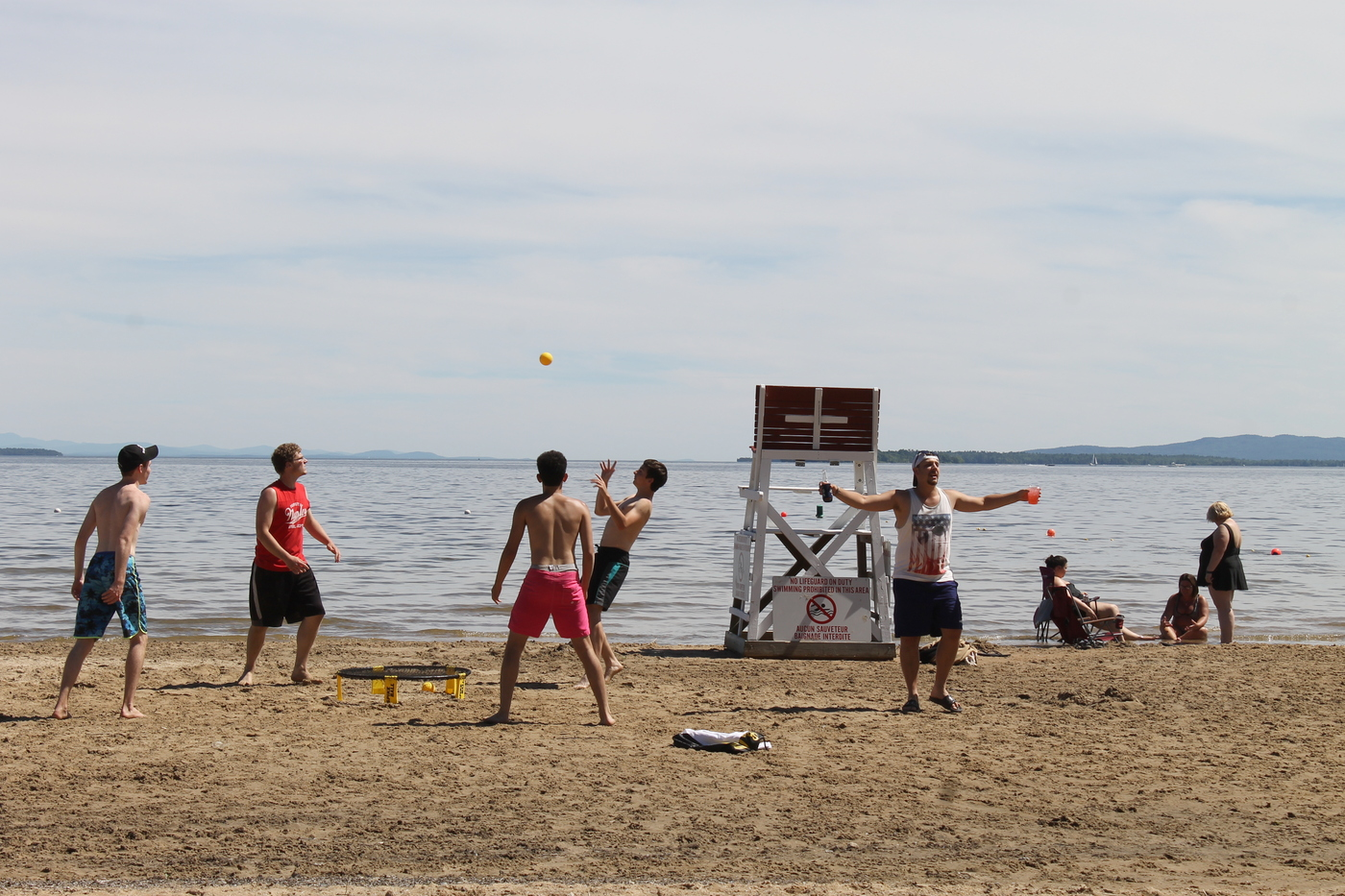 want to escape the heat wave cool out at plattsburgh city beach