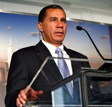 Governor David Paterson (NYS)
