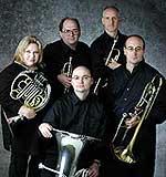 Potsdam Brass Quintet: John Ellis, Trumpet; James Madeja, Trumpet, Kelly Drifmeyer, Horn; Mark Hartman, Trombone; Charles Guy, Tuba