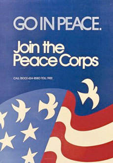 "Peace Corps recruiting poster. Photo: <a href=""http://www.peacecorps.gov/"">Peace Corps</a>"