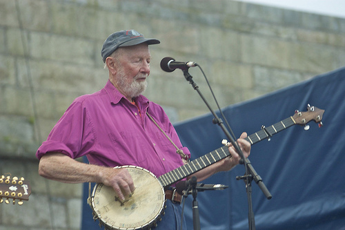 Pete Seeger On Campus