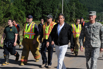 Governor Andrew Cuomo has called for changes to the way New York plans for future floods (NCPR File photo)