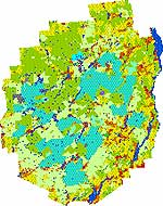 Adirondack Land Use Plan<br />Source:  APA