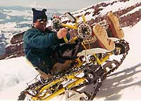 Mobility Engineering's Snowpod in action.