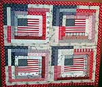 Patriotic Wall Hanging (Randy Merrill, Colton)