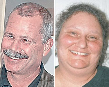Saranac Lake mayoral candidates: incumbent Clyde Rabideau, left, and challenger Dianna Trummer. Photos courtesy Adirondack Daily Enterprise