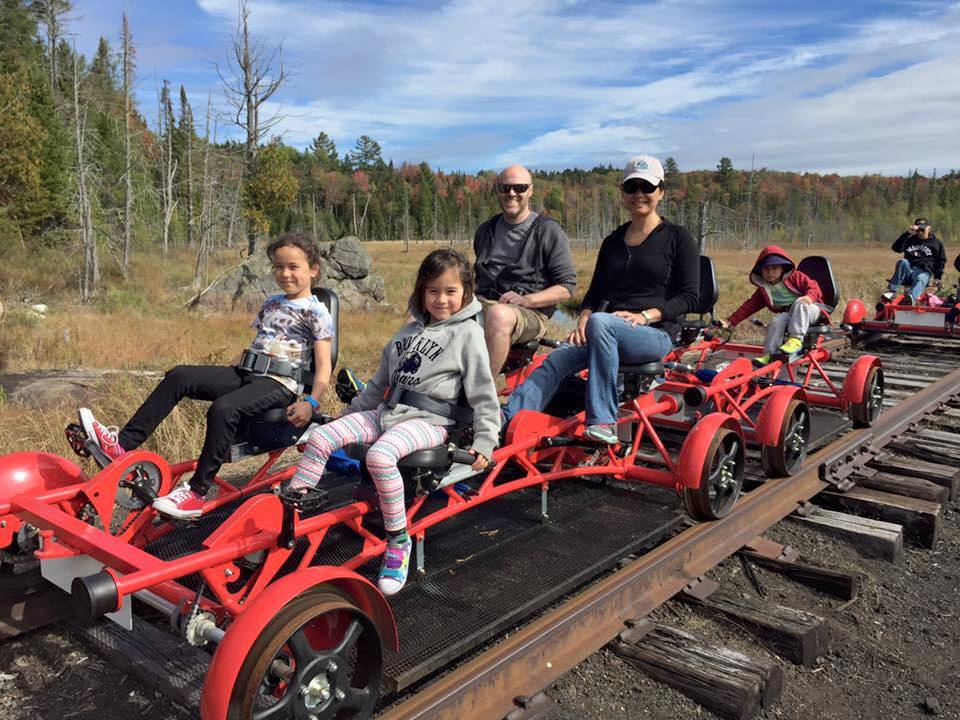 Rail Bikes Are Popular In Adirondacks But May Be Short Lived Ncpr News