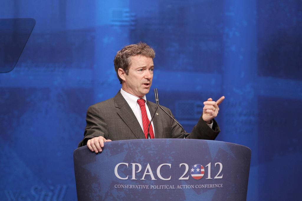 Cheers To Senator Rand Paul >> Presidential candidate Rand Paul rallies Vermont GOP | NCPR News