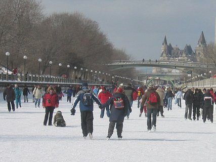 Enjoying the skateway in 2011. Photo courtesy C. Miller