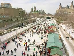 Skaters on Ottawa's Rideau Canal during Winterlude, 2010. Photo: Judy Andrus Toporcer, Pierrepont NY. NCPR Photo of the Day archive, Winter 2010.