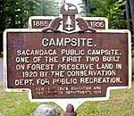 Camping on Sacandaga (Source: NYS DEC)