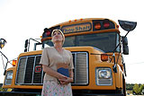 "Actor Tracey Girdich portrays ""Sarah"" in ""The Bus"" at the FlynnSpace this week"