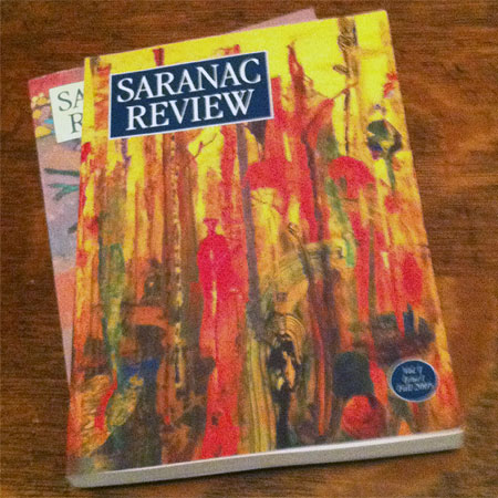 The first issue of the Saranac Review