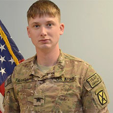 Sgt. Shawn Farrell II. Photo: U.S. Army