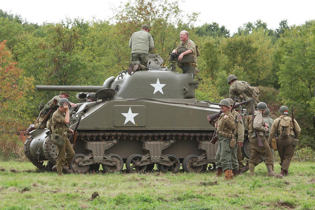 ny state military museum s wwii era tank going on display ncpr news