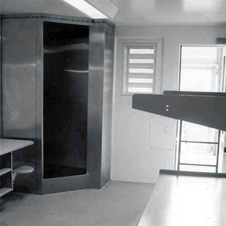 NYCLU says this kind of solitary confinement cell is widely used in New York's prisons, including Upstate Correctional Facility in Malone. Source: NYCLU