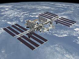 The International Space Station (not actual size). Photo: NASA.gov
