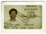 Richard Stratton's Federal incarceration ID (Source: R. Stratton)