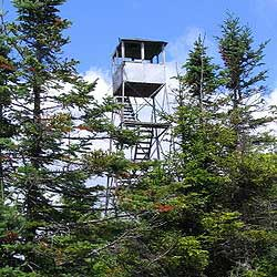 St. Regis Mt. fire tower. (source: Wikipedia)