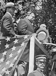President Taft celebrating Champlain's arrival in 1909