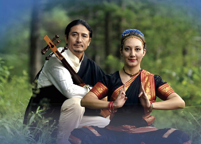 tibetan music indian dance to welcome the new year in saranac lake