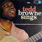 1958 Tedd Browne album cover