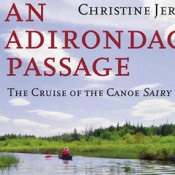 Cover detail: <i>An Adirondack Passage, the Cruise of the Canoe Sairy Gamp</i>