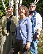 From left: Marilyn McCabe, Elaine Handley, and Mary Sanders Shartle