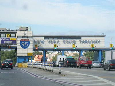 "NY Thruway Toll Plaza. Photo: <a href=""http://www.flickr.com/photos/friscocali/"">Friscocali</a>, CC <a href=""http://creativecommons.org/licenses/by-nc/2.0/deed.en"">some rights reserved</a>"