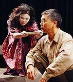 Aura Carcueva, Denis Akiyama. Photo: David Hawe.