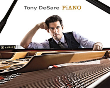 Singer, pianist and songwriter Tony DeSare will be the featured guest artist at the All Star Big Band performance Sunday night. Photo: courtesy Norwood Village Green Concert Series