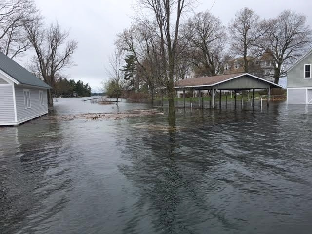 Image result for chippewa lake floods