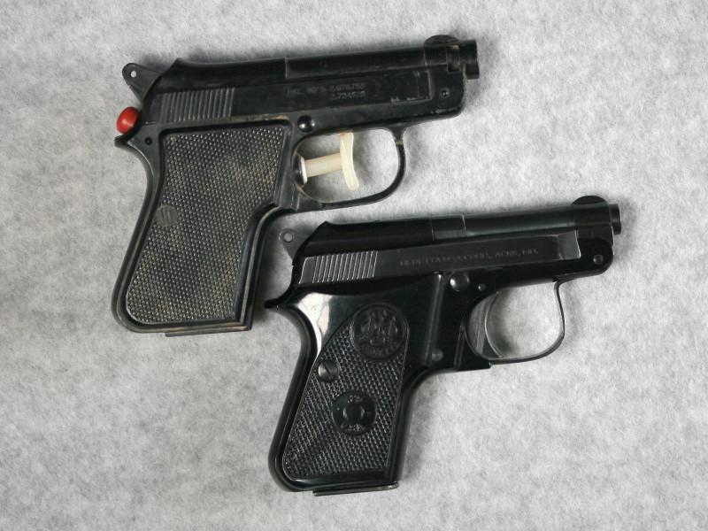 Black squirt gun