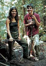 "Anna Christner and David ""Woody"" Woodworth<br />Photos:  Ben Stechschulte, courtesy of <i>Adirondack Life</i>"