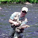 Tim Damon has been fishing North Country rivers and streams for more than 30 years.