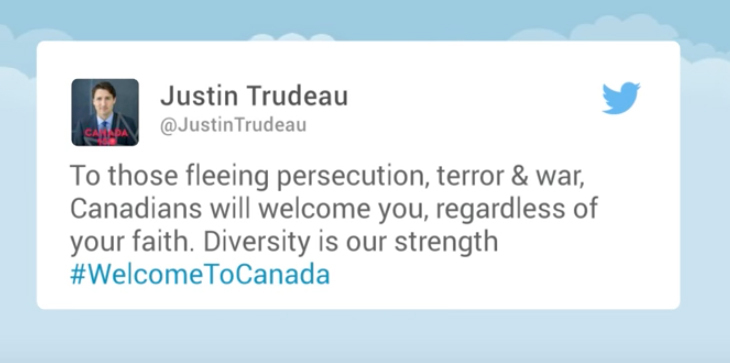 As refugees and migrants keep coming some canadians say enough prime minister trudeau has repeatedly sent message of warning stopboris Image collections