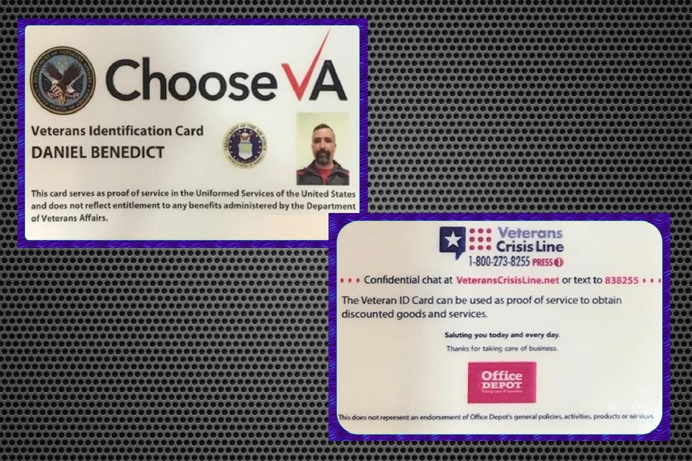 VA issues long awaited veteran ID card, but it comes with an ad on ...