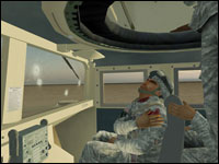 "A scene from ""Virtual Iraq"" (Source:  University of Southern California)"
