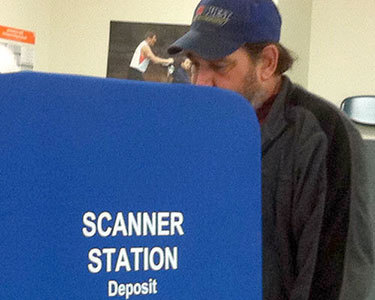 Voter, 2012. Photo: Julie Grant