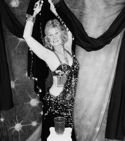 Juanita Babcock, bellydancing instructor. Photo: Kimberly Doerr