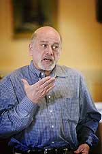 Bill Goodman, legal director, Center for Consitutional Rights.  Photo by Jimm Collins