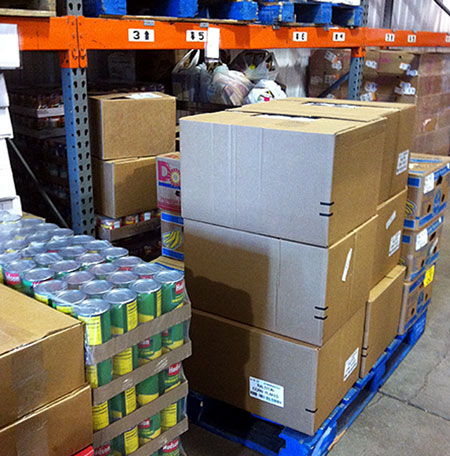 Comlinks food distribution warehouse in Malone