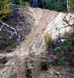 ATV Trail Damage (Source:  Wildlife Conservation Society)