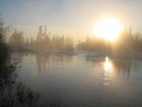 The wild Rupert River in the months before its diversion. Photo: Brian Mann